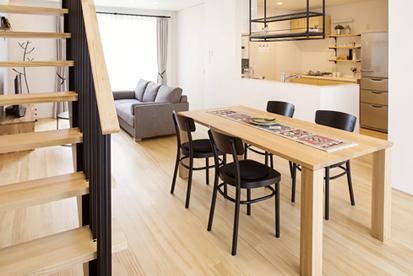 高性能+デザイン+住まい方。本物の木の家が1,500万円で実現。
