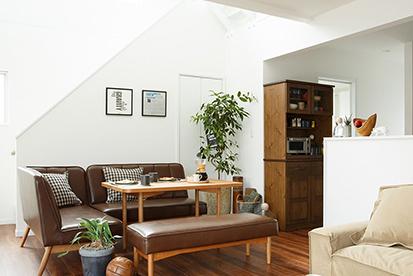 わたしたちにちょうどいい家。セミオーダー型デザイン住宅。