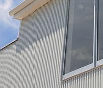 ガルバリウム銅板の外壁・屋根